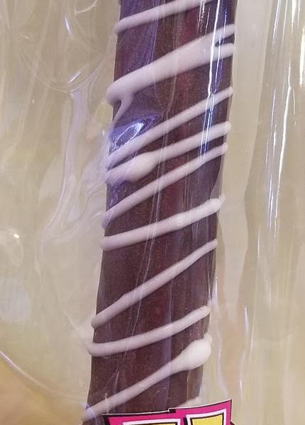 dark chocolate dipped pretzel rod